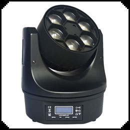 Six Bee Eyes Moving Head Light