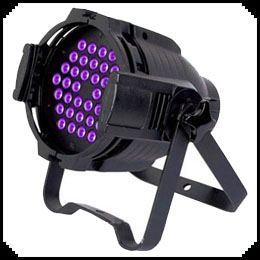 UV LED Par64 3W 54pcs